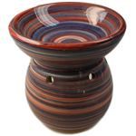 Deep Well Oil Burner Swirly Pattern
