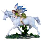 Fairy on Unicorn by Jody Bergsma