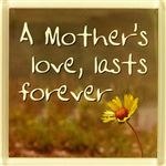 Fridge Magnet 019 A mothers love, lasts forever