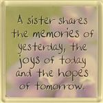 Fridge Magnet 022 A Sister Shares