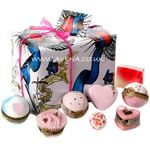Gift Wrapped Love Rocks Bath Gift Box