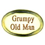 Grumpy Old Man Ceramic Fridge Magnet