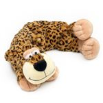 Microwavable Leopard Neck Warmer