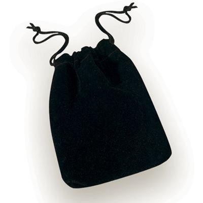 Black Drawstring Pouch Small | Drawstring Pouch Mini Black