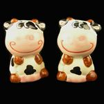 Salt & Pepper Pots Cow Design