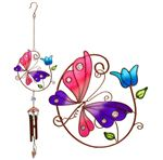 Butterfly And Tulip Chime