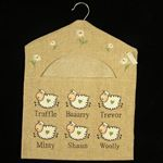 Sheep Peg Bag (Truffle,Baaarry, Trevor,Minty,Shaun,Woolly)