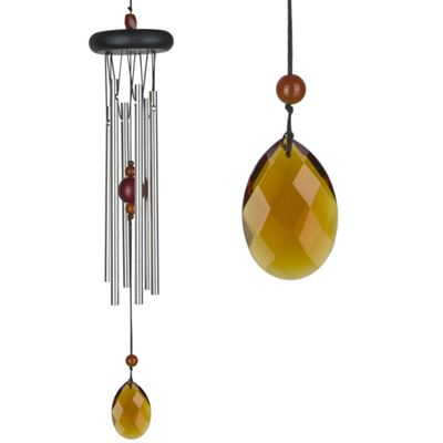 Amber Chakra Wind Chime Large From Woodstock