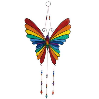 Butterfly Suncatcher Multicoloured