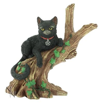 Black Cat in Tree Onyx