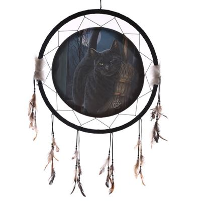 Cat & Broom Dream Catcher Extra Large