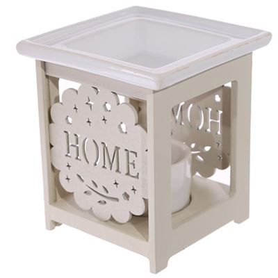 Home Oil Burner Cut Out Flower