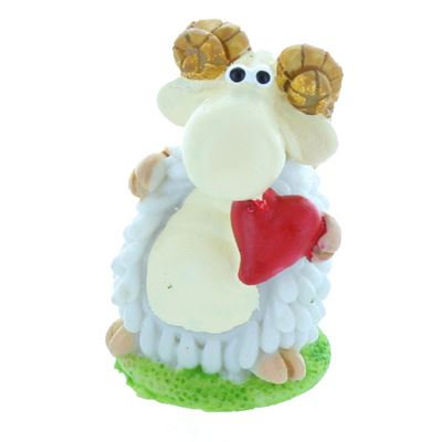 Love Heart Mini Sheep