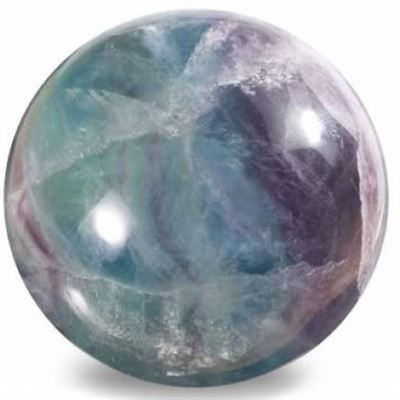 Fluorite Rainbow Sphere Large 45mm