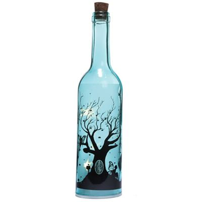 Blue Fairy Tree Bottle with LED Lights