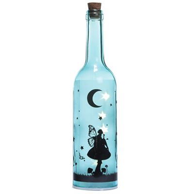 Blue Fairy Dream Bottle with LED Lights