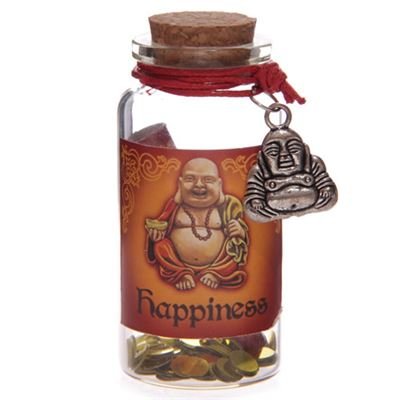 Happiness Mini Buddha Wishes Jar