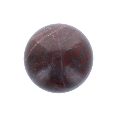 Red Marble Sphere