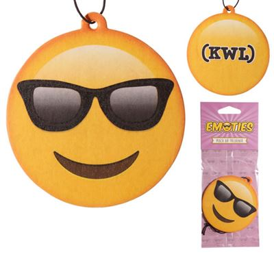 Cool Dude Emoji Car Air Freshener
