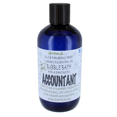 Accountant's Gift Bubble Bath SLS & Paraben Free