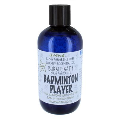 Badminton Player's Gift Bubble Bath SLS & Paraben Free