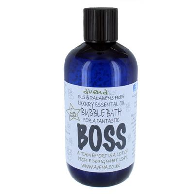 Boss' Gift Bubble Bath SLS & Paraben Free