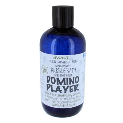 Domino Player's Gift Bubble Bath SLS & Paraben Free