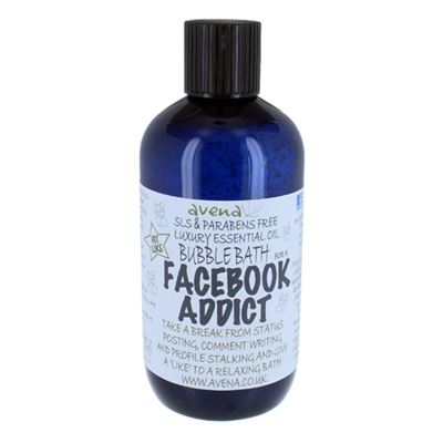 Facebook Addict's Gift Bubble Bath SLS & Paraben Free