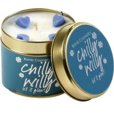 Chilly Willy Candle in a Tin