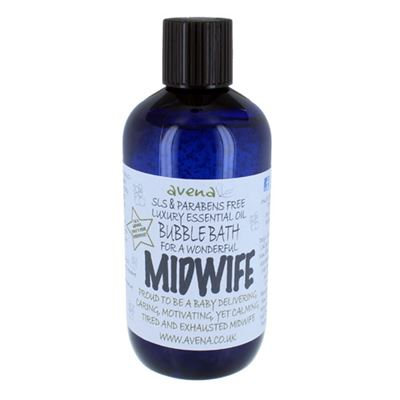 Midwife's Gift Bubble Bath with Pure Essential Oils
