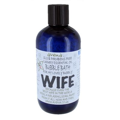 Wife's Gift Bubble Bath with Pure Essential Oils
