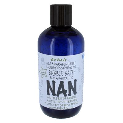 Nan's Gift Bubble Bath with Pure Essential Oils