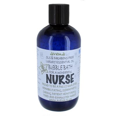 Nurse's Gift Bubble Bath with Pure Essential Oils