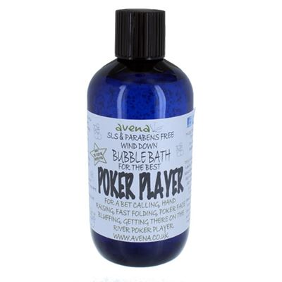 Poker Player's Gift Bubble Bath SLS & Paraben Free