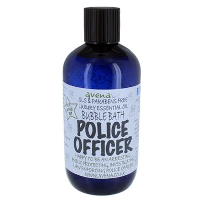 Police Officer's Gift Bubble Bath SLS & Paraben Free