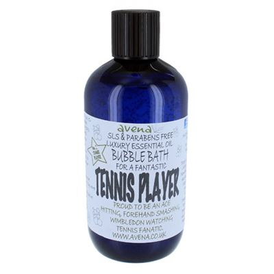 Tennis Player's Gift Bubble Bath SLS & Paraben Free