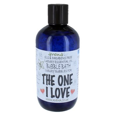 The One I Love Gift Bubble Bath with Pure Essential Oils