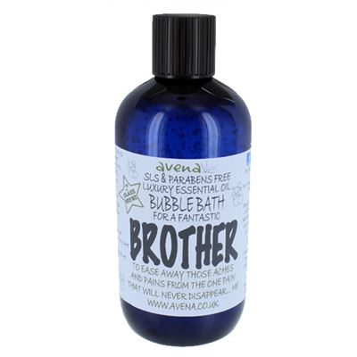 Brother's Gift Bubble Bath SLS & Paraben Free