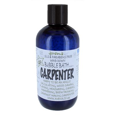 Carpenter's Gift Bubble Bath Deep Foam Cleaning