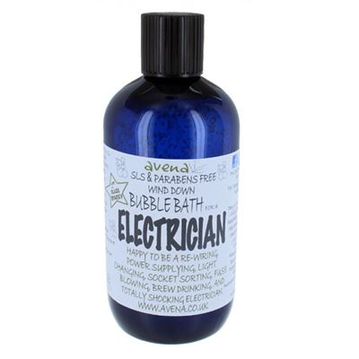 Electrician's Gift Bubble Bath Deep Foam Cleaning
