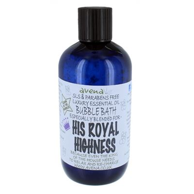 His Royal Highness' Gift Bubble Bath SLS & Paraben Free