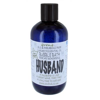 Husband's Gift Bubble Bath SLS & Paraben Free