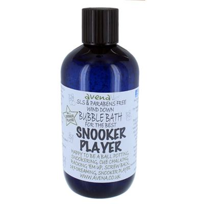 Snooker Player's Gift Bubble Bath SLS & Parabens Free