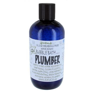 Plumber's Gift Bubble Bath Deep Foam Cleaning