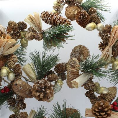 Cone & Acorn Garland Extra Large 5 Foot Long