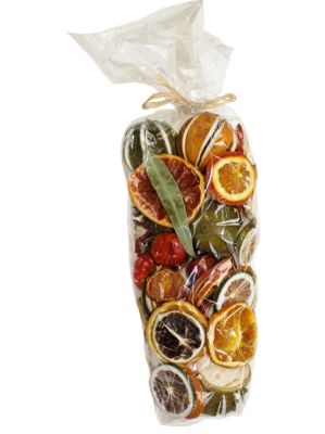 Fruit & Cones Pot Pourri Bag