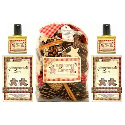 Gingerbread Lane 5 Piece Scented Gift Set