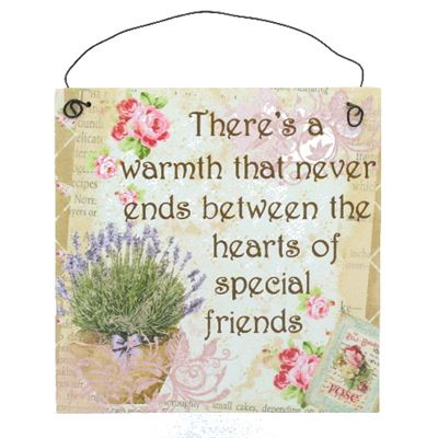 Friends Hanging Plaque