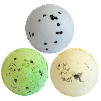 Gin & Tonic Bath Bombs 3 Pack in Gift Box