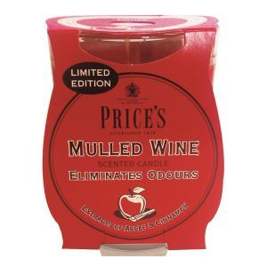 Mulled Wine Candle in Glass Jar by Price's
